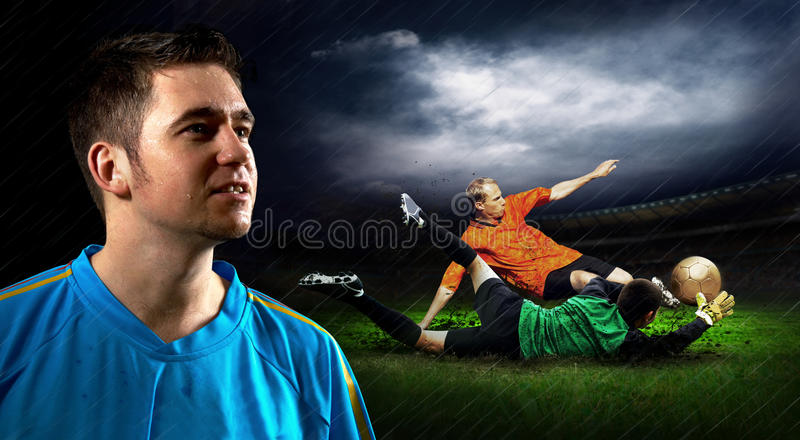 Download Soccer stock photo. Image of human, illustration, competition - 16914540