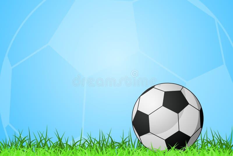 Download Soccer stock vector. Image of design, time, blue, game - 22822498