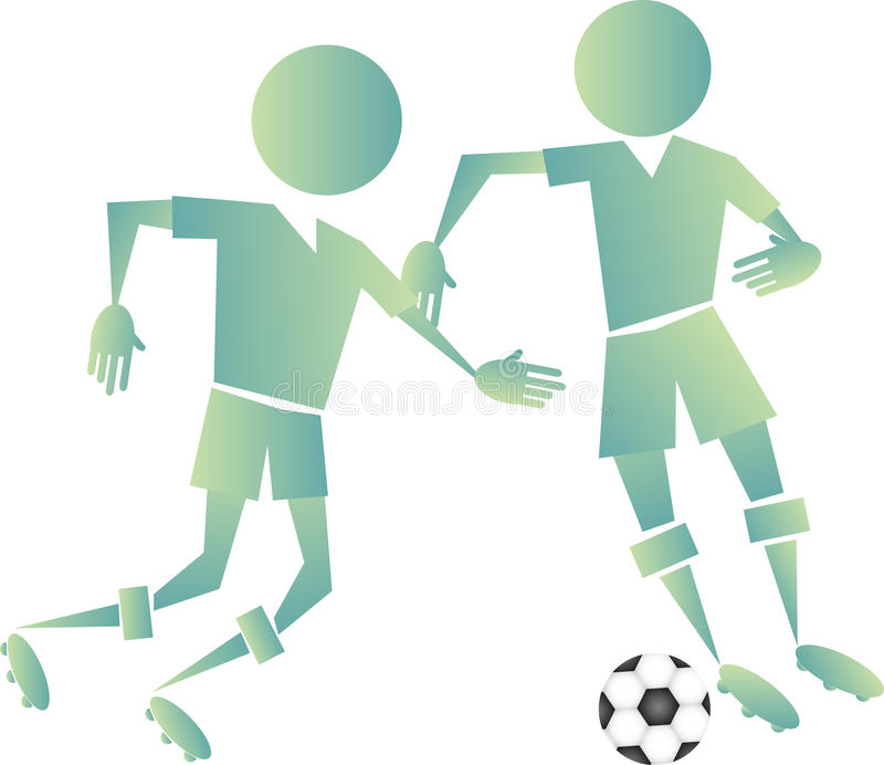 Download Soccer stock illustration. Image of active, compete, knee - 28502216