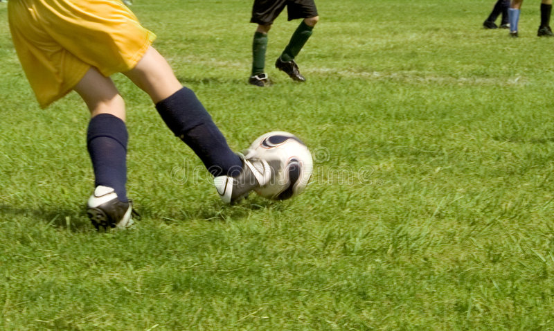 Download Soccer stock photo. Image of kicker, movement, game, energetic - 3270814