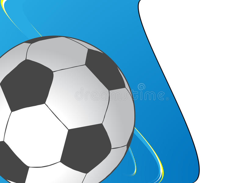 Download Soccer background stock vector. Image of leather, white - 10570483