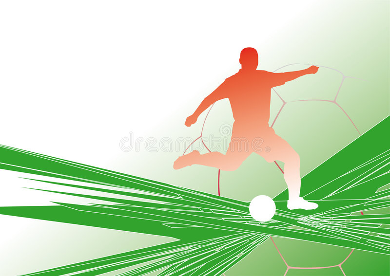 Soccer-background5 stock de ilustración