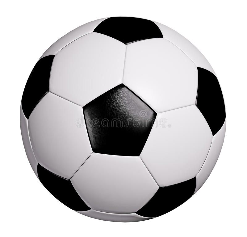 Download Soccer ball stock image. Image of leather, clipping, sphere - 12081345