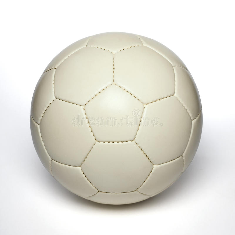 Soccer ball. On white background royalty free stock photos