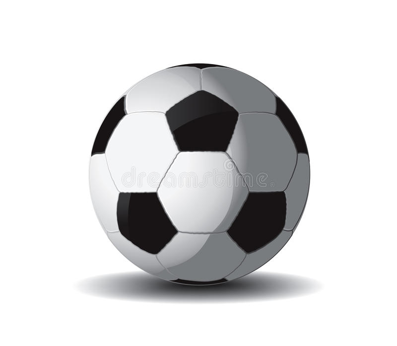 Soccer Ball 2 Royalty Free Stock Image