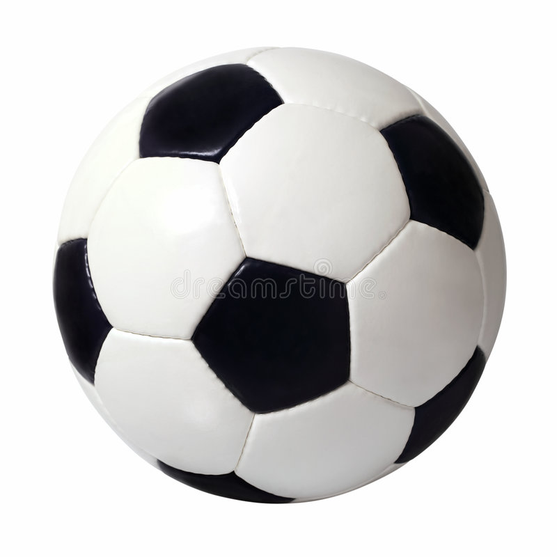 Soccer ball 2 royalty free stock photography