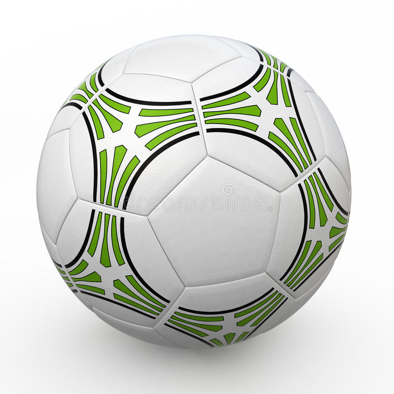 Download Soccer ball stock illustration. Image of symbol, circle - 21930238