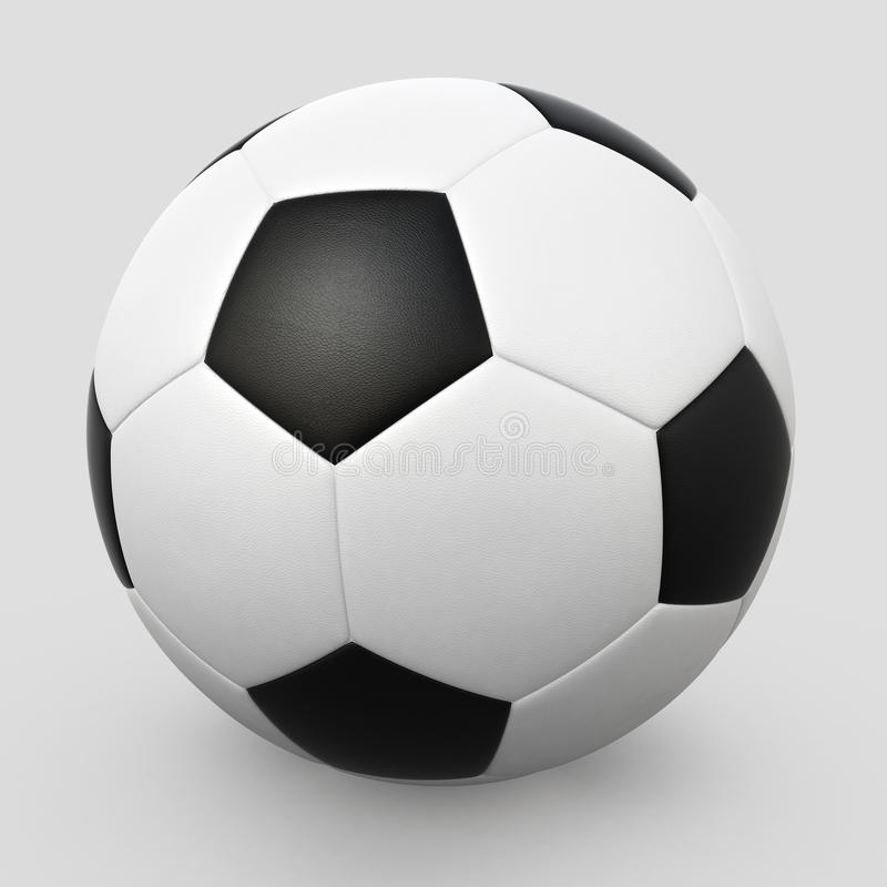 Download Soccer ball stock illustration. Image of steel, playing - 22739784