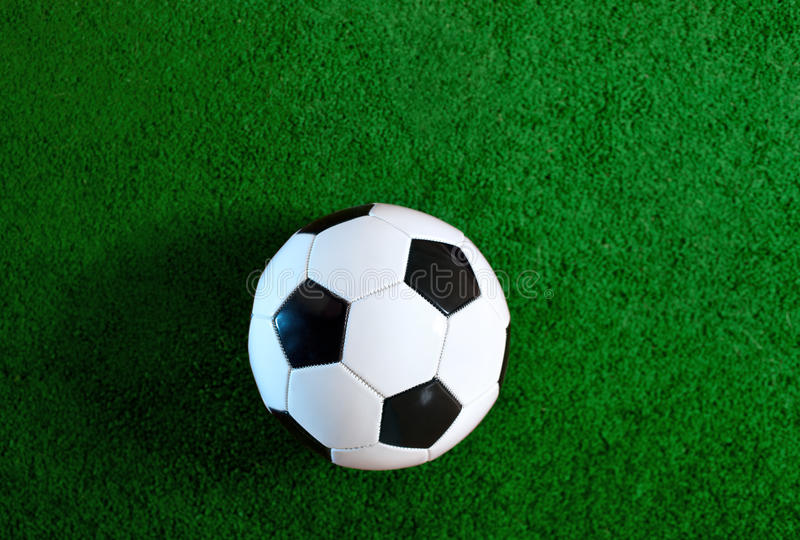 Download Soccer ball stock image. Image of field, nobody, lawn - 23269983
