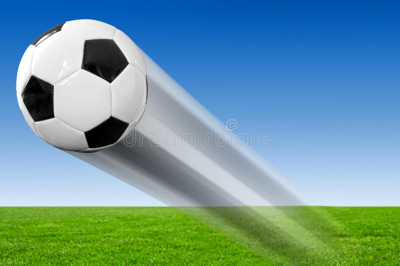 Download Soccer ball stock photo. Image of field, play, green - 25087504