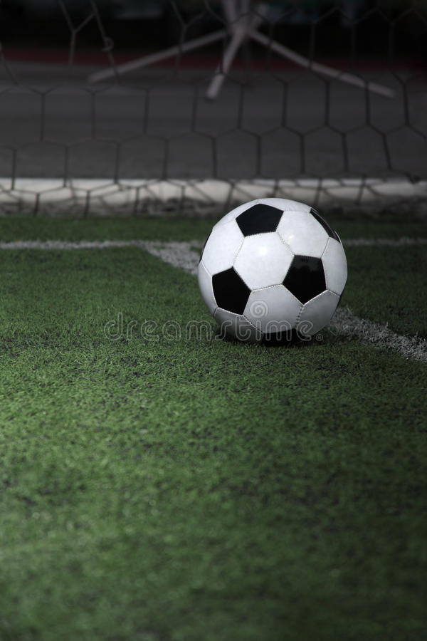 Download Soccer ball stock image. Image of sports, ball, field - 26566189