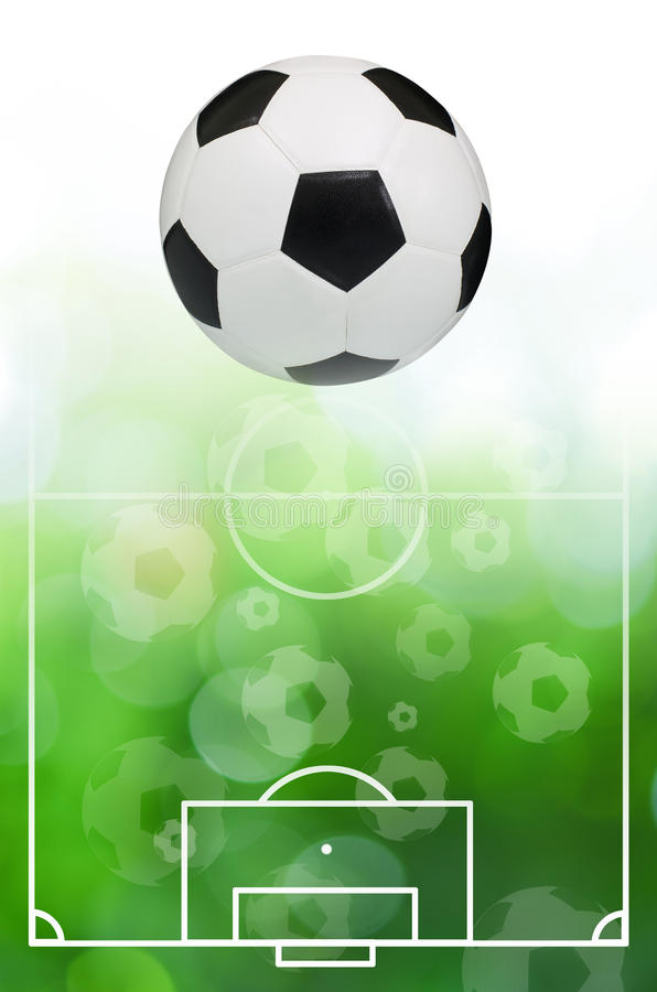 Download Soccer ball stock illustration. Illustration of shoot - 26798731