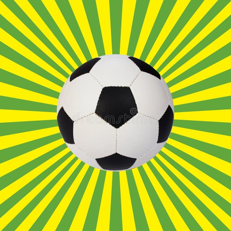 Soccer ball royalty free illustration