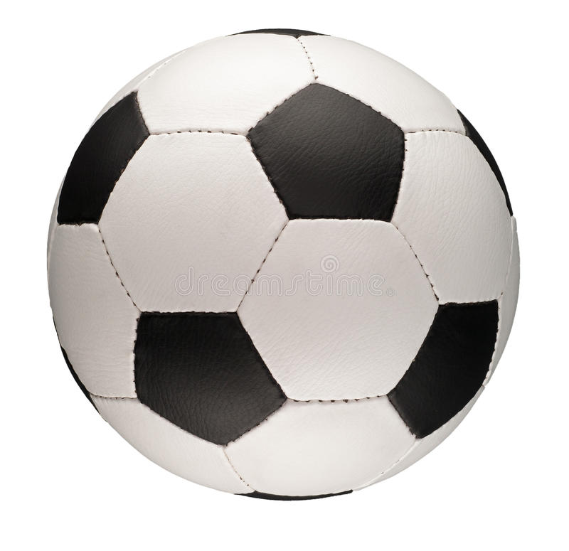 Download Football or Soccer Ball stock image. Image of equipment - 28510113