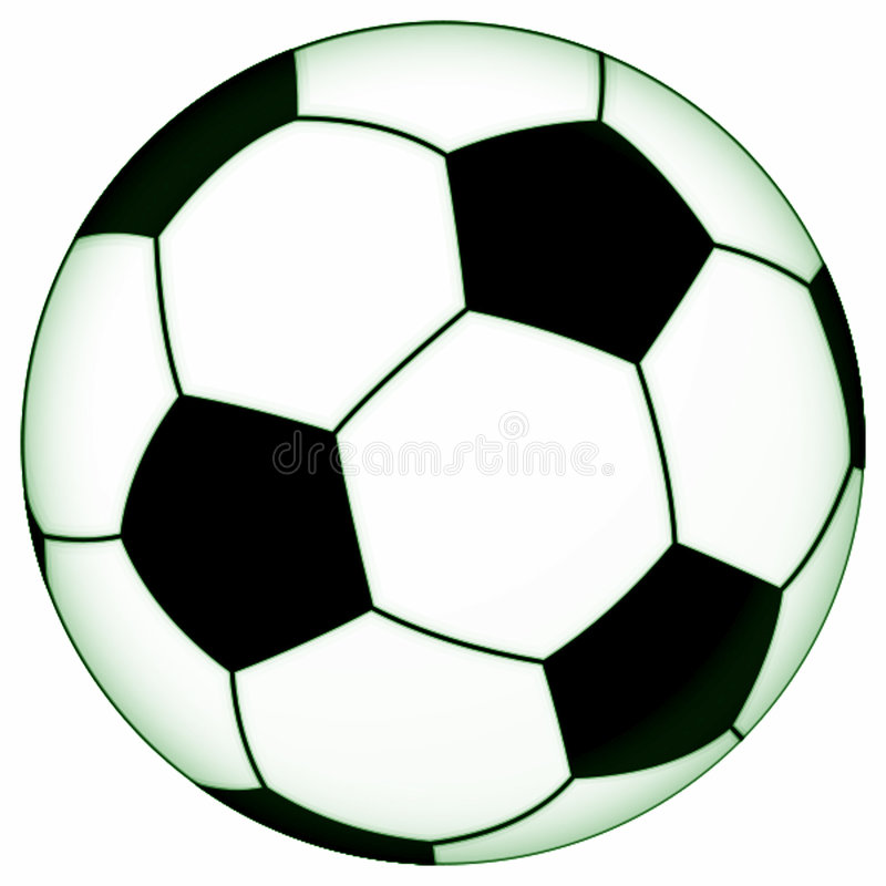 Download Soccer ball stock illustration. Image of kickball, championship - 5821506