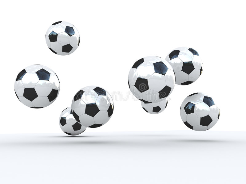 Download Soccer ball stock illustration. Image of game, jump, sports - 858323