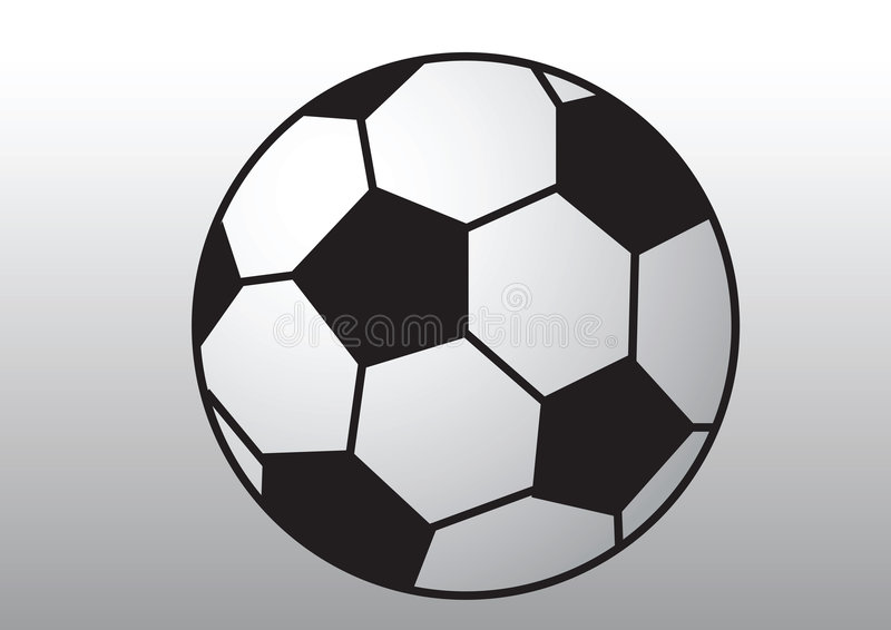 Download Soccer ball stock vector. Image of isolated, design, drawing - 9027179