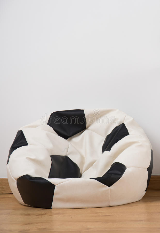 Download Soccer Ball Bean Bag Chair Stock Image. Image Of Room   58492097