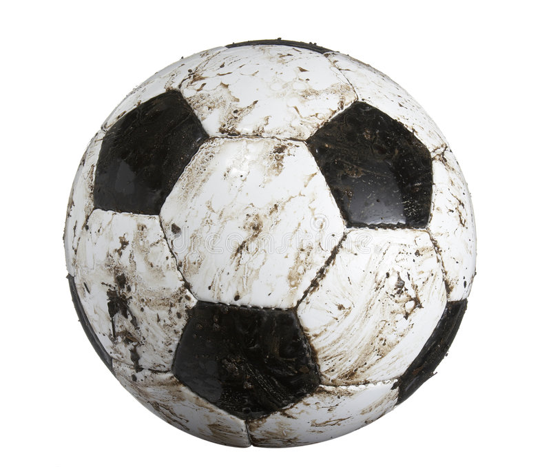 Download Soccer ball dirty stock image. Image of color, background - 8144103