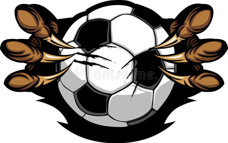 Download Soccer Ball With Eagle Talons Image Stock Vector - Illustration: 21869954