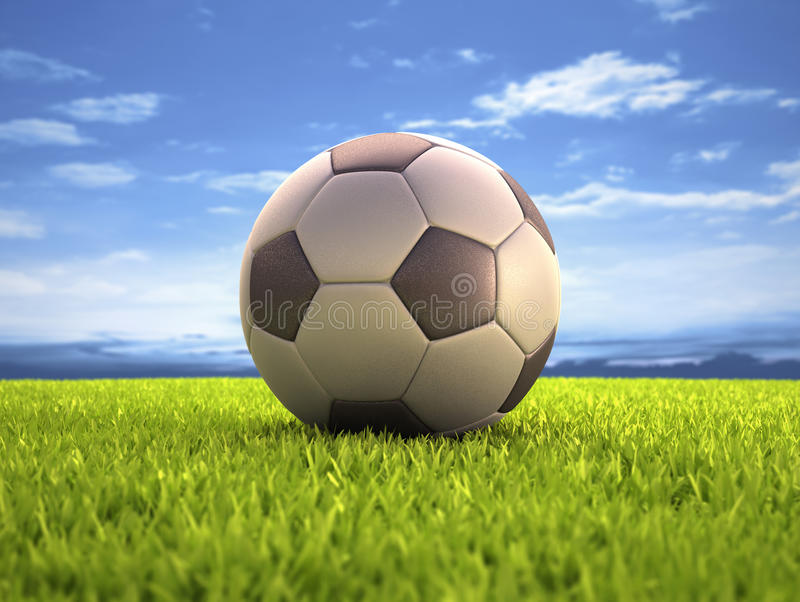 Download Soccer Ball stock image. Image of world, contest, entertainment - 34599211