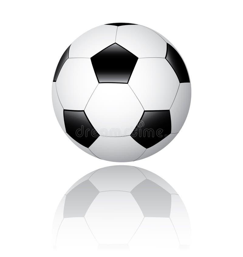 Soccer ball, football royalty free illustration