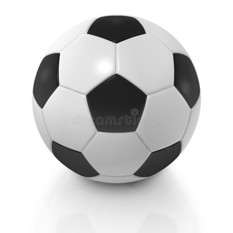 Soccer ball or football close up stock photos