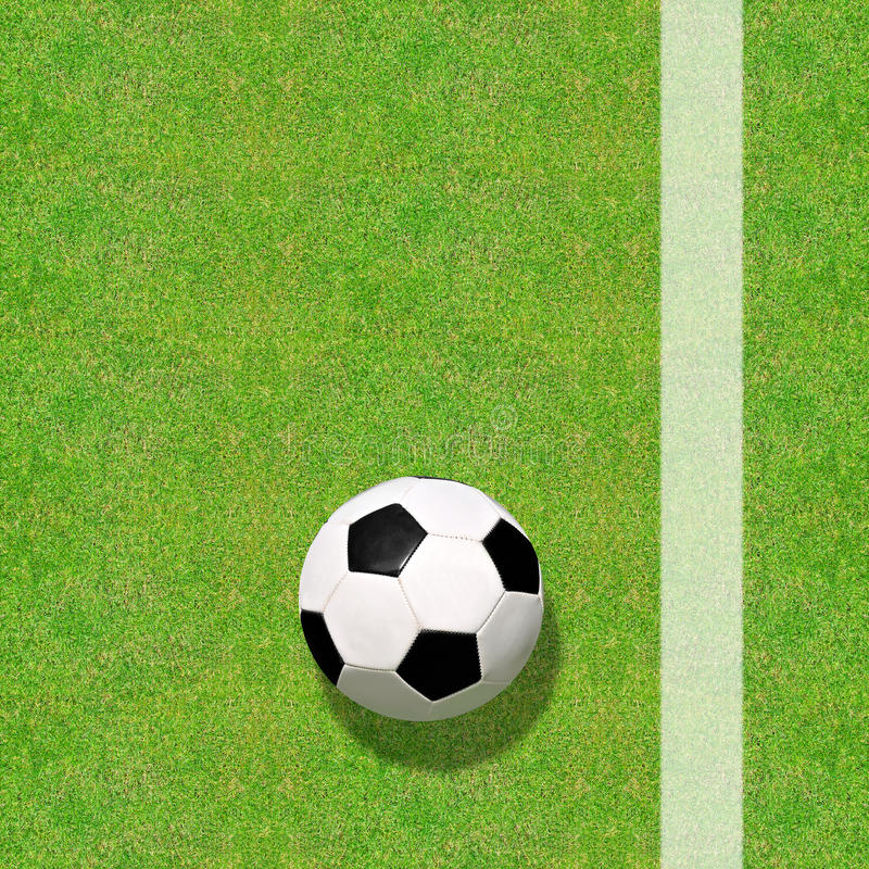 Download Soccer ball stock photo. Image of leather, football, grass - 39239668