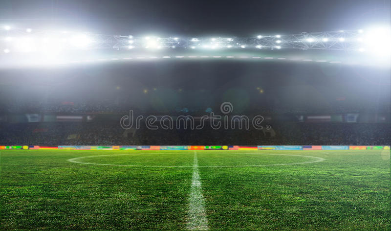Soccer ball football .. royalty free stock photography