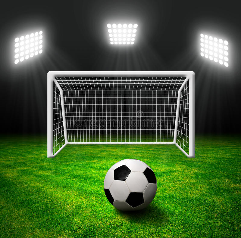 Download Soccer ball in grass stock image. Image of green, equipment - 39239891