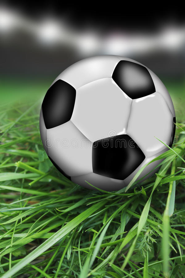 Download Soccer ball stock illustration. Image of recreational - 40393185