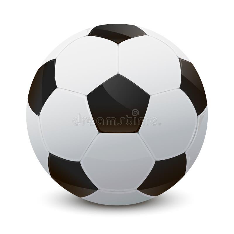 Download Soccer ball stock vector. Image of single, shadow, football - 36689438