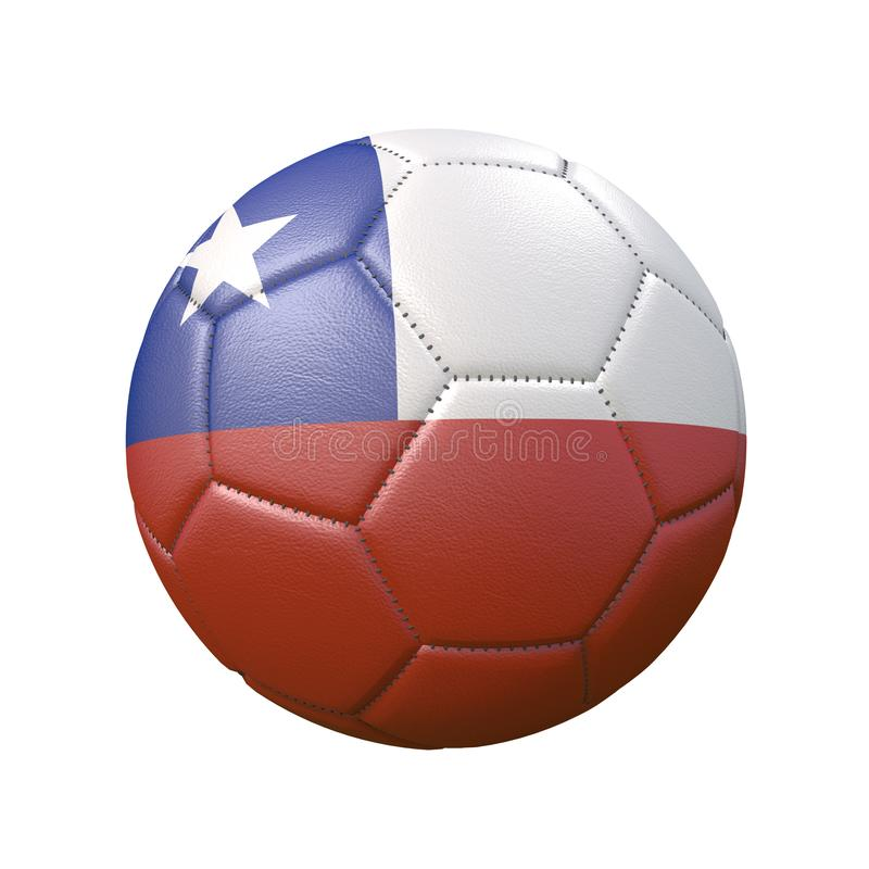 Free Soccer Ball In Flag Colors Isolated On White Background Royalty Free Stock Photography - 160985407