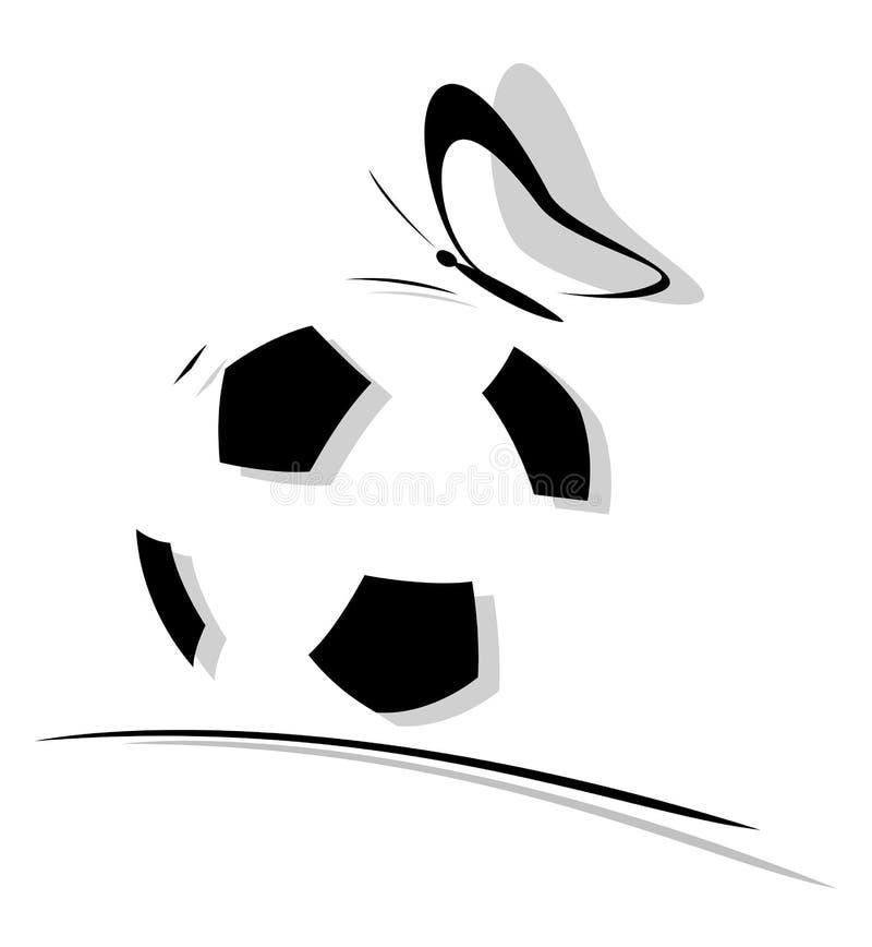 Soccer Ball Logo stock illustration