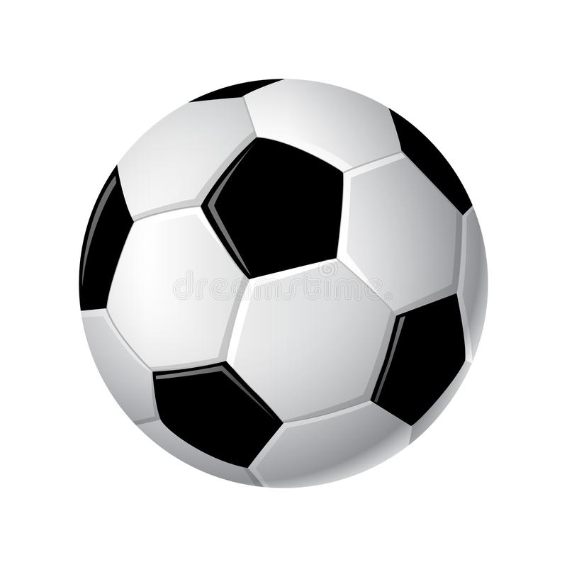Free Soccer Ball - Modern Vector Realistic Isolated Clip Art Royalty Free Stock Image - 104229926
