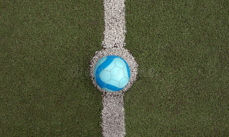 Soccer Ball Start Kick ball royalty free stock images