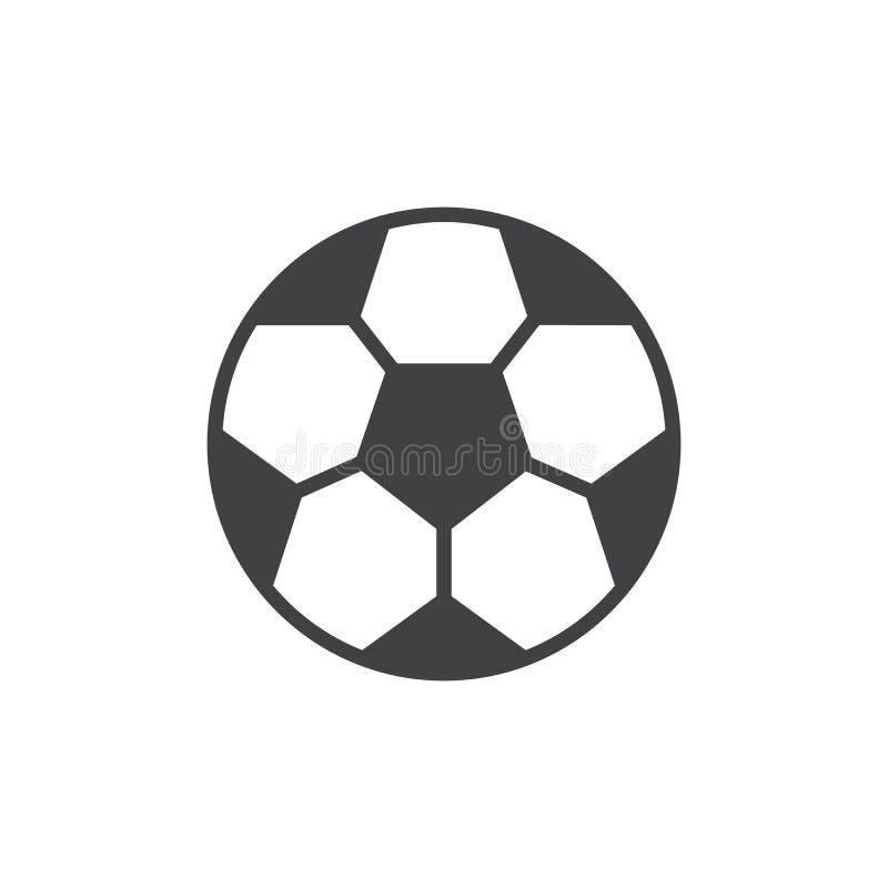 Soccer ball vector icon vector illustration