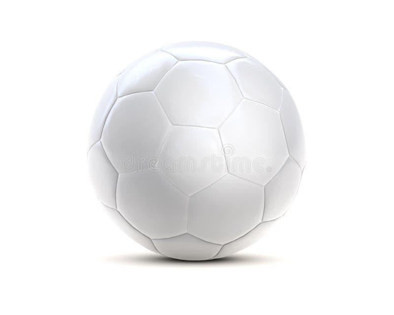 Soccer Ball White 3d Stock Illustration