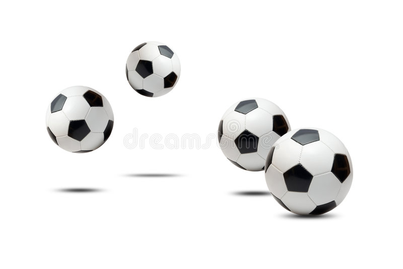 Download Soccer balls stock photo. Image of background, bouncing - 7645950