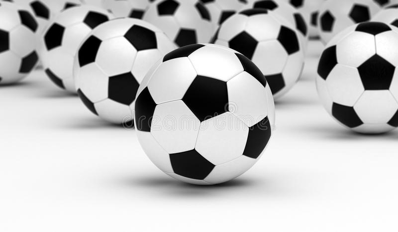 Soccer Balls royalty free stock photos