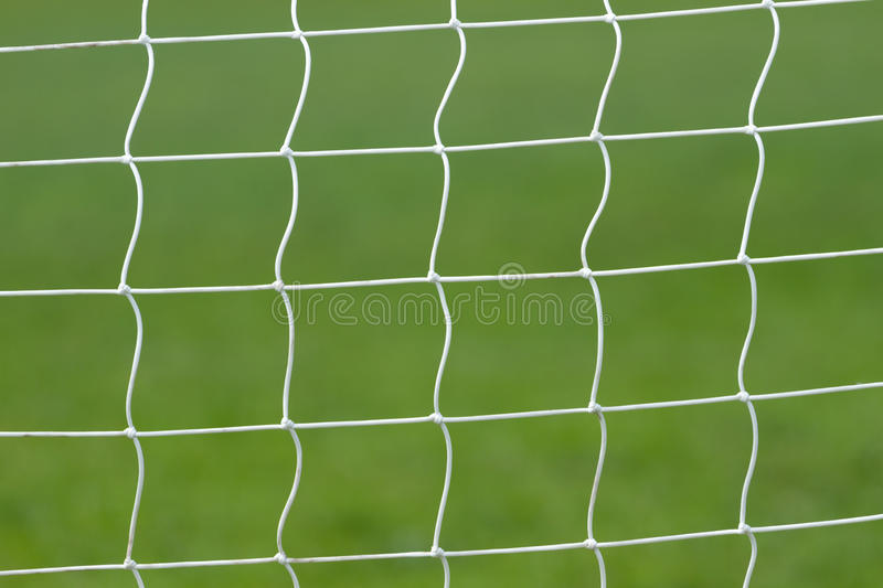 Download Soccer Behind Goal Net Stock Photo - Image: 40952805