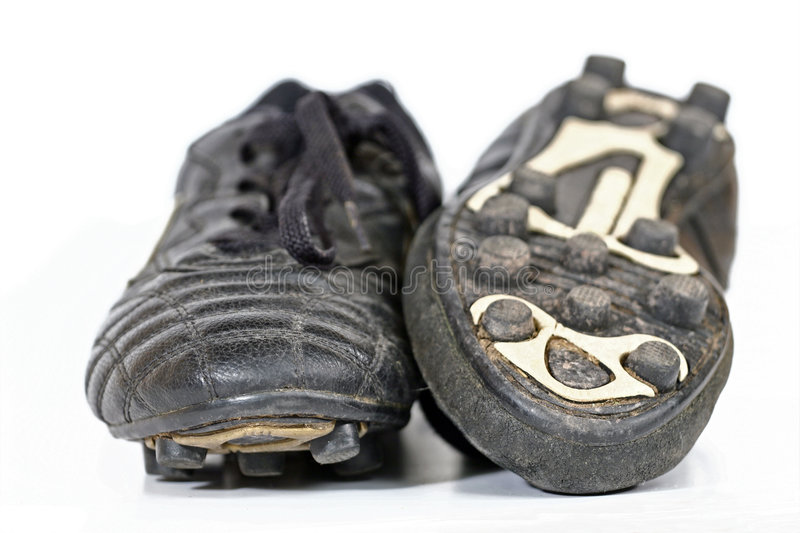 Soccer Boots. Soccer/football boots on white background