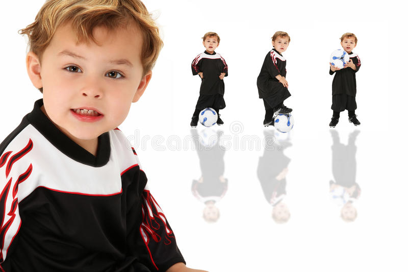 Soccer Boy Royalty Free Stock Image