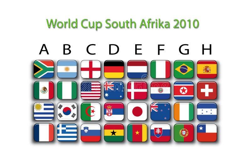 Download Soccer championship 2010 stock illustration. Illustration of color - 12595612