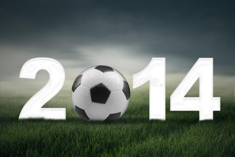 Soccer Championship Of 2014 Concept Stock Photo