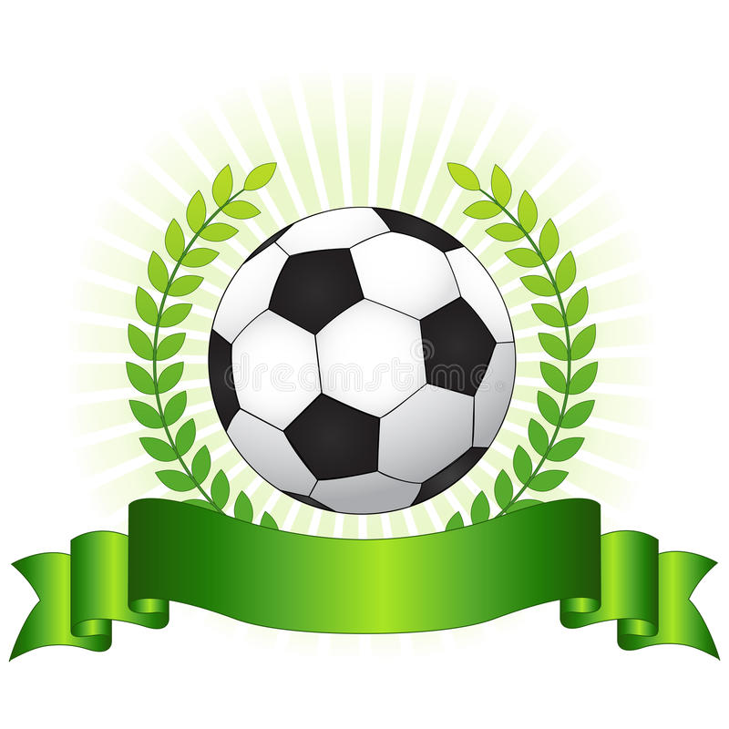 Soccer championship concept royalty free illustration