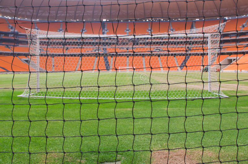 Soccer City,johannesburg. South africa will host the 2010 world cup of soccer. Jewel of the crown is the soccer city in soweto-johannesburg, and the stadium stock images