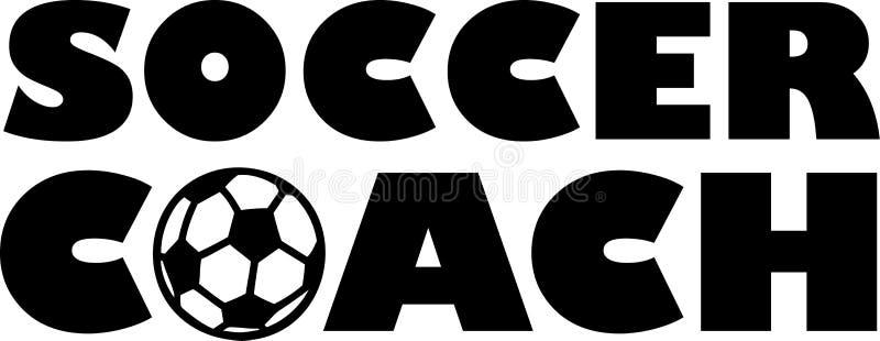 Soccer Coach Football stock illustration