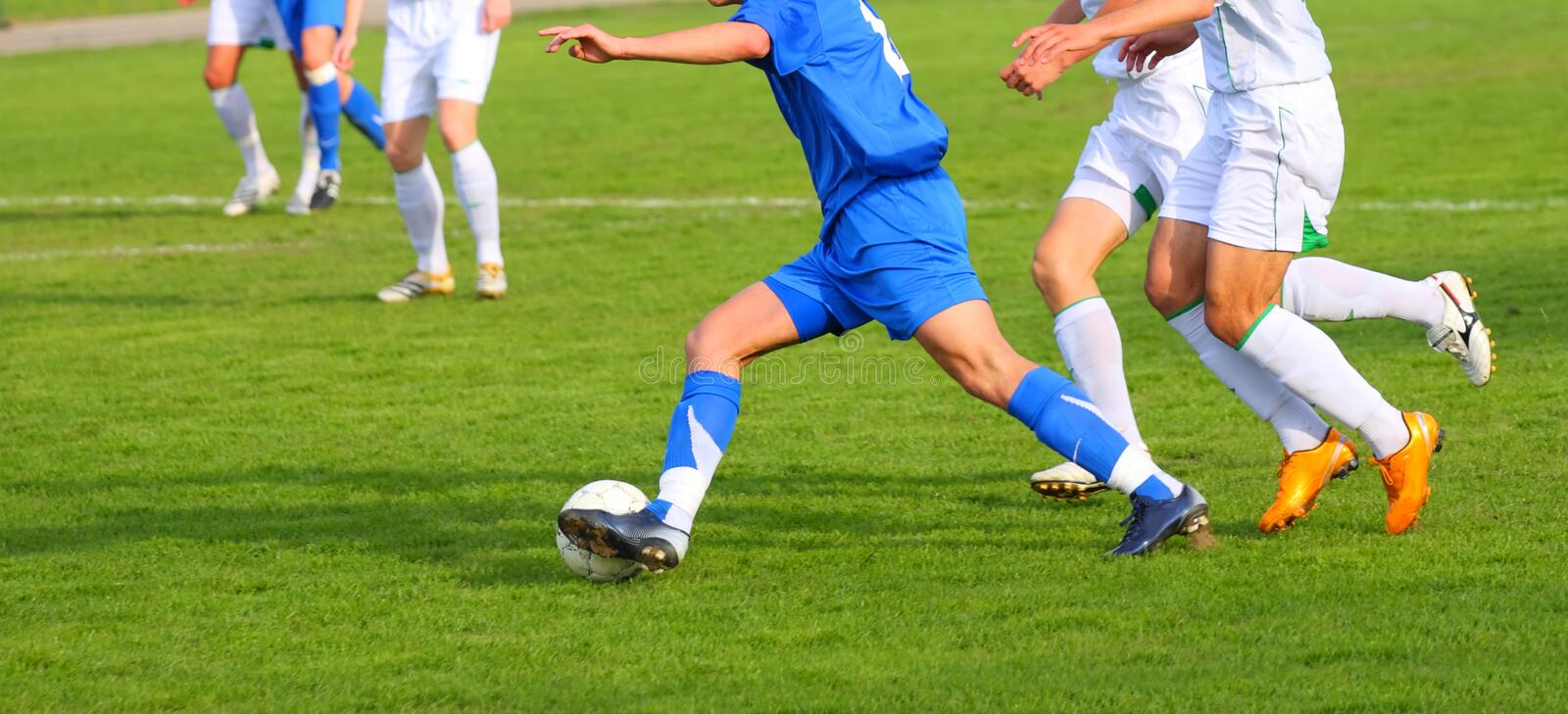Download Soccer competition stock image. Image of outdoors, green - 6333481