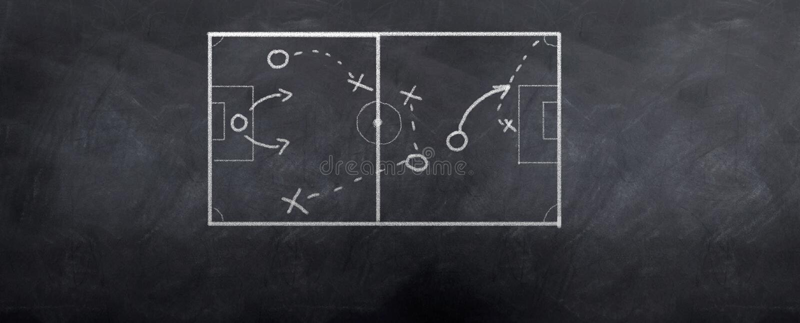 Soccer Corner Kick vector illustration